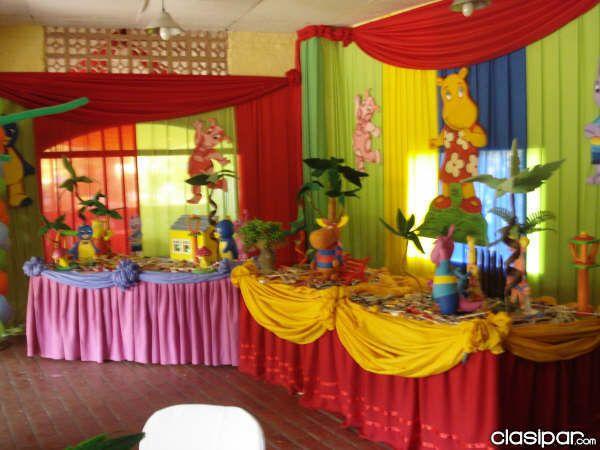 Decoracion de fiestas con tela decoracion con telas para - Decorar paredes con telas ...