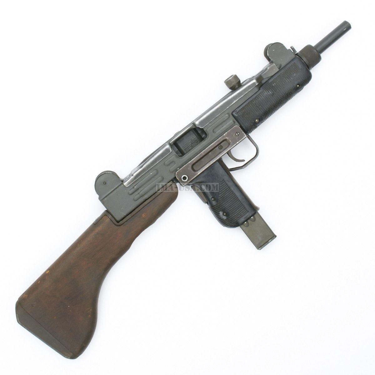 Original Israeli UZI Display Submachine Gun with Wood ...