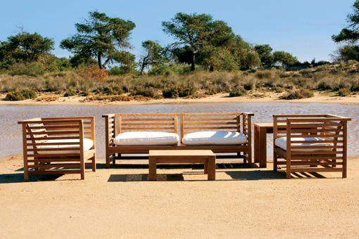 sofas de madera para jardin inspiracin de diseo de interiores - Sofas De Jardin Baratos
