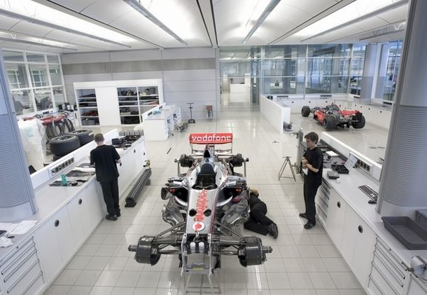 inside f1 mclaren technology centre mclaren f1 team. Black Bedroom Furniture Sets. Home Design Ideas