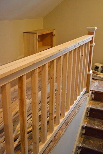 Best Diy Stair Railing Diy Stair Railing Diy Stairs Rustic 640 x 480