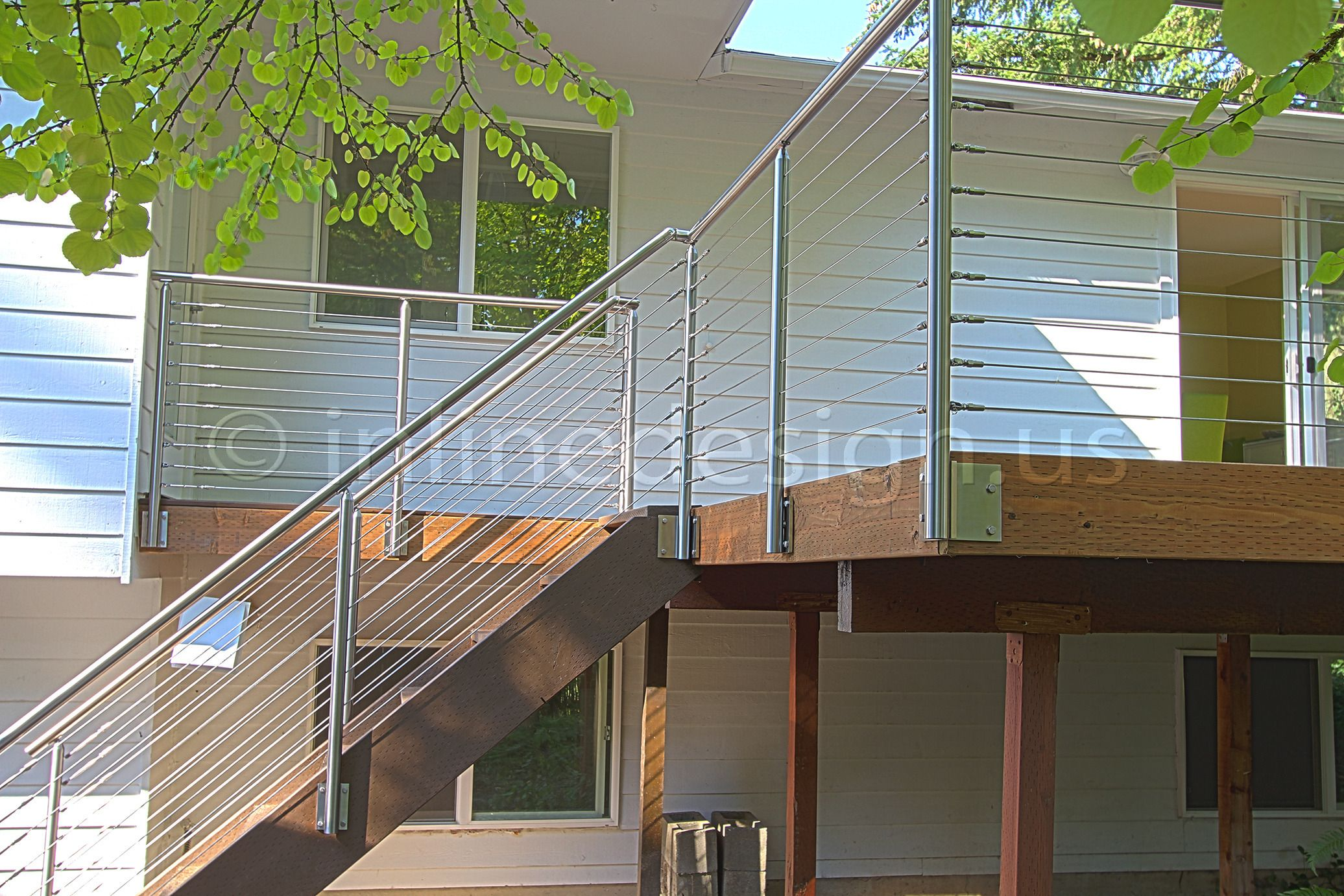 face mount balcony railing | Preview_stainless-steel-deck-cable ...