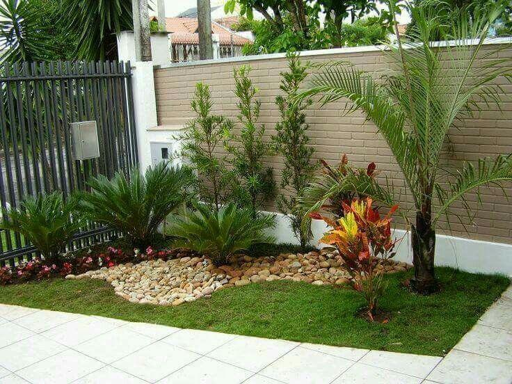 Easy Beautiful Garden Garden With Rocks Tropical Garden Con Imagenes Jardines Modernos Decoraciones De Jardin Decoracion Jardines Pequenos