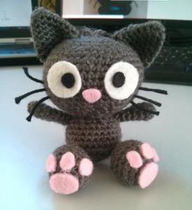 tutoriel gratuit du chat en crochet chez chapitaine crochet crochet pinterest chats en. Black Bedroom Furniture Sets. Home Design Ideas