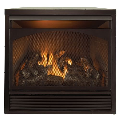Procom 32 Zero Clearance Gas Fireplace Insert With Remote Control