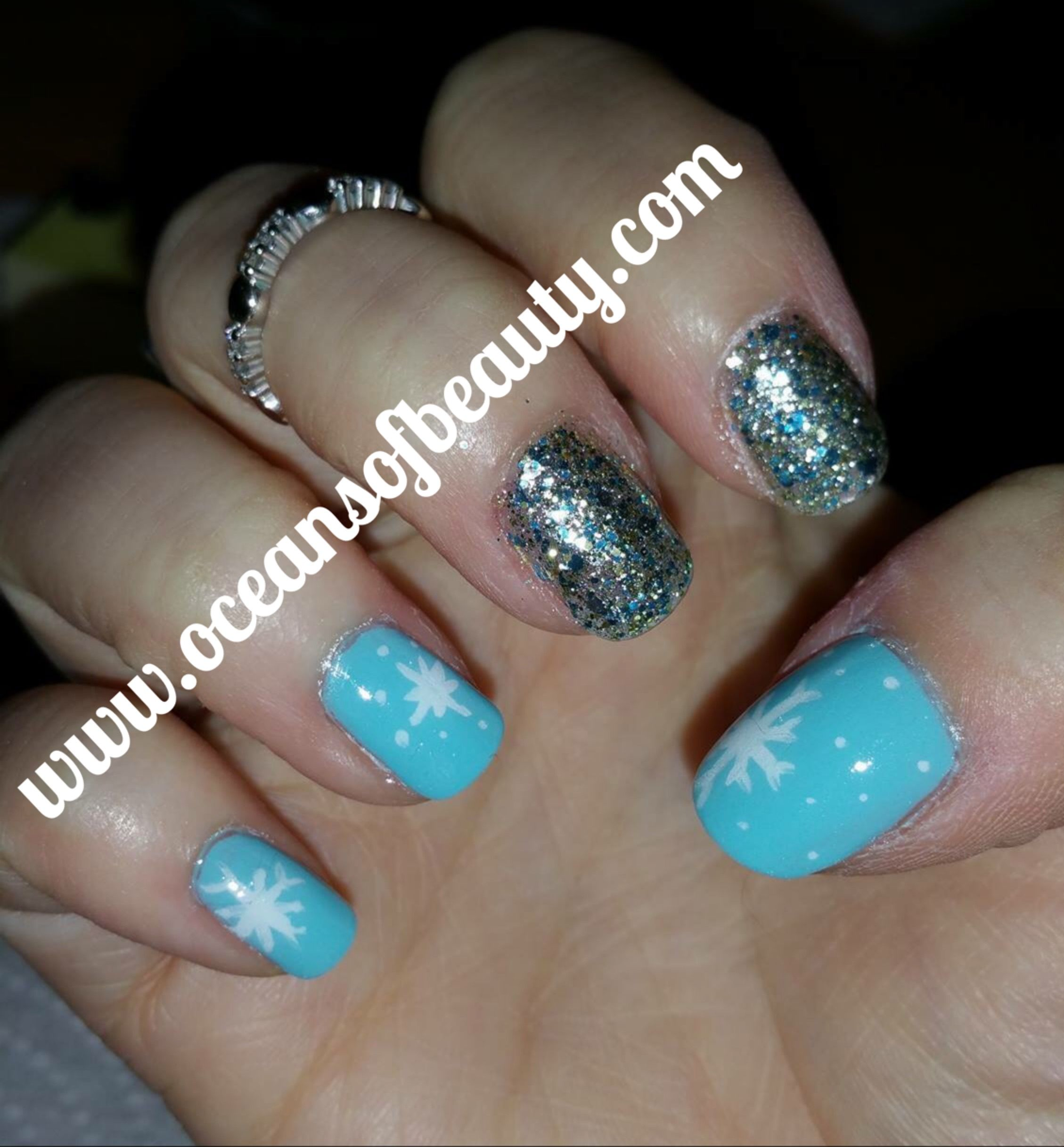 Crystal Clear. This customer used it on top of regular polish! EZdip ...
