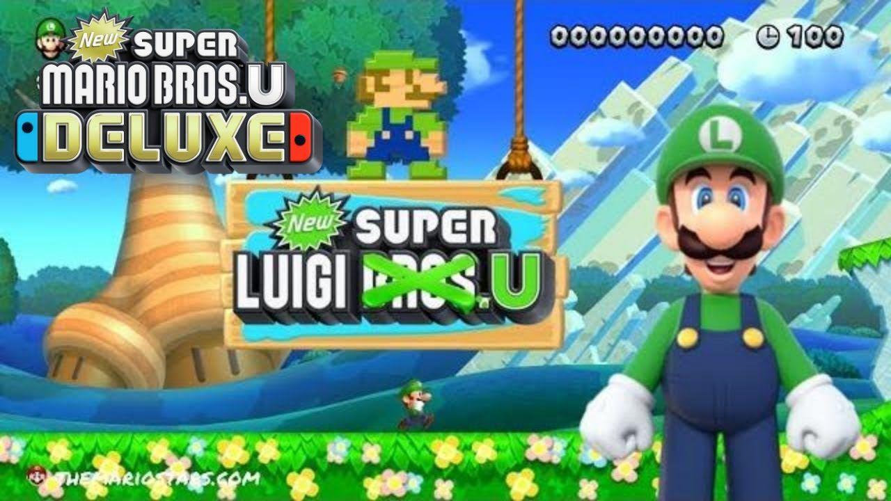 New Super Mario Bros U Deluxe New Super Luigi U Nintendo