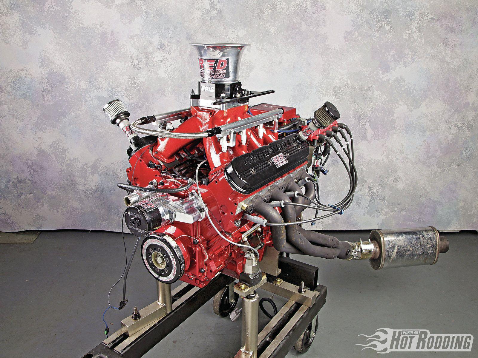 Racing Engine Design 6 0l Ls Chevy Motor Hot Rod Us Trailer