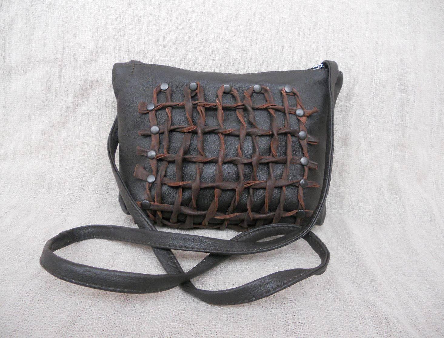 1e7081afde3b Handbag leather chain art.1-327