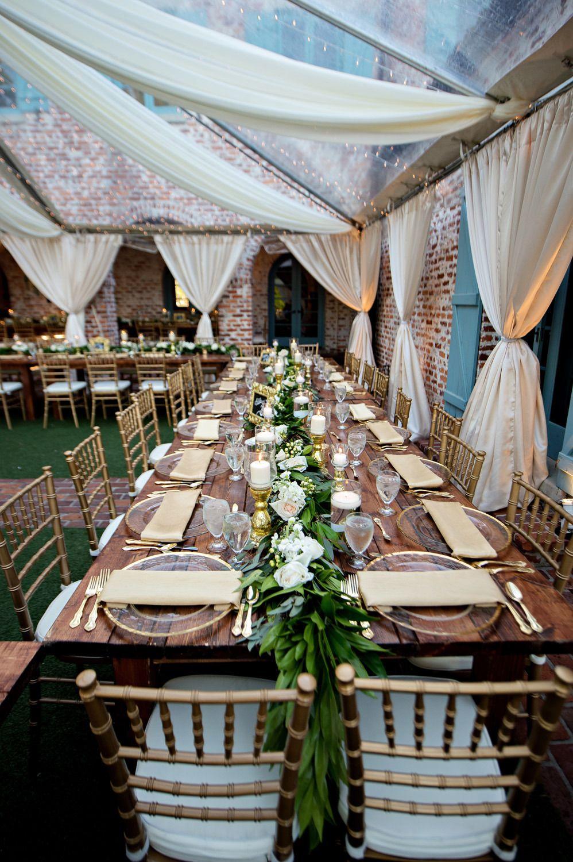 Luxury Garden Wedding In Winter Park Florida At Casa Feliz Garden Wedding Games Luxury Garden Tent Wedding