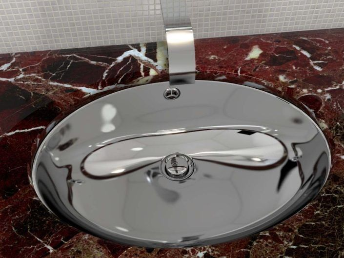 Tha ... simple, fine and luxury sink!
