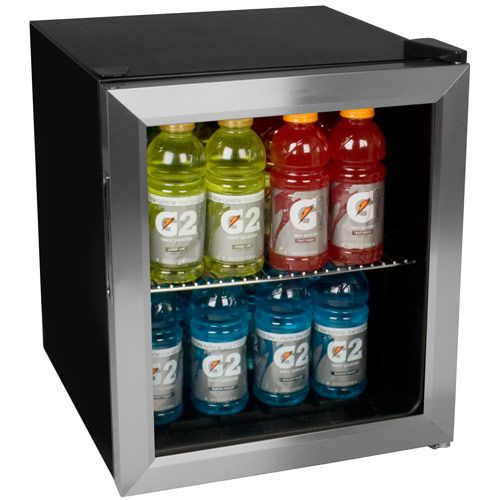 For A Compact Refrigerator That Can Hold A Lot Look No Further Than The Edgestar 62 Can Extreme Cool Bev Beverage Refrigerator Beverage Cooler Beverage Center
