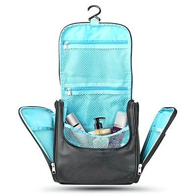Tidybagz Travel Organizer Kit Bathroom Storage Cosmetic Toiletry Hanging Bag