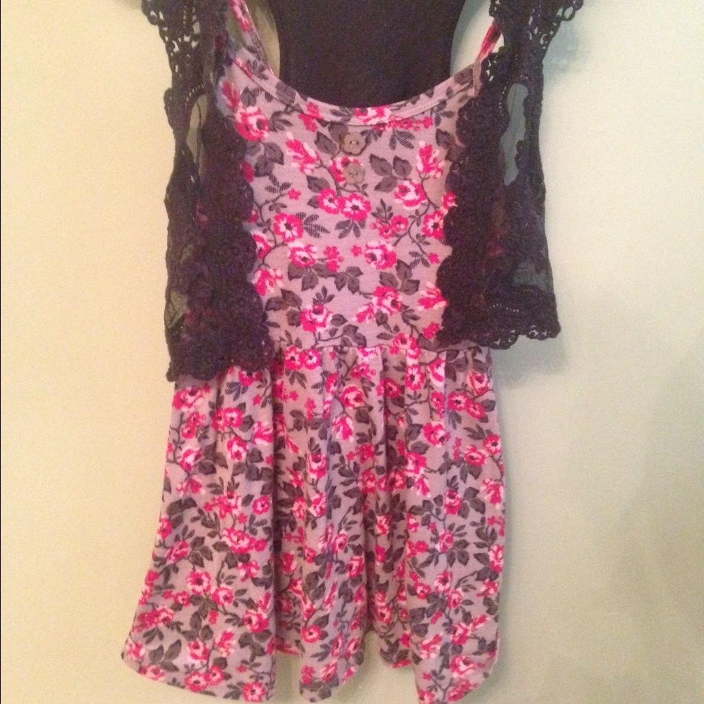 Cute short floral dress products