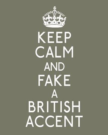 Awesome! I love british accents!!!! Sexy!