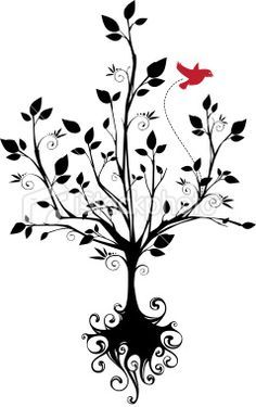Image result for roots to grow and wings to fly clipart