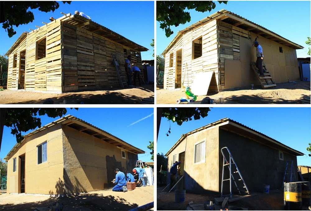 Cómo Hacer Una Casa Con Palets Paso A Paso Casa De Palets Como Construir Una Casa Casas Hechas Con Palets