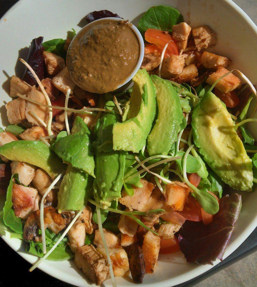 Huntington beach secret spot organic food vegan
