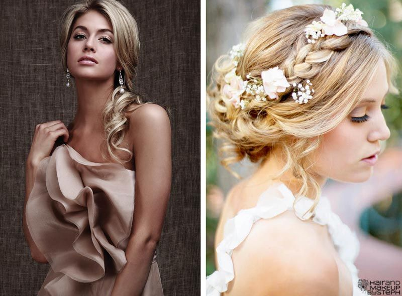 20 Wedding Hairstyles For Round Faces Ideas Wohh Wedding Side Hairstyles Medium Hair Styles Side Swept Hairstyles