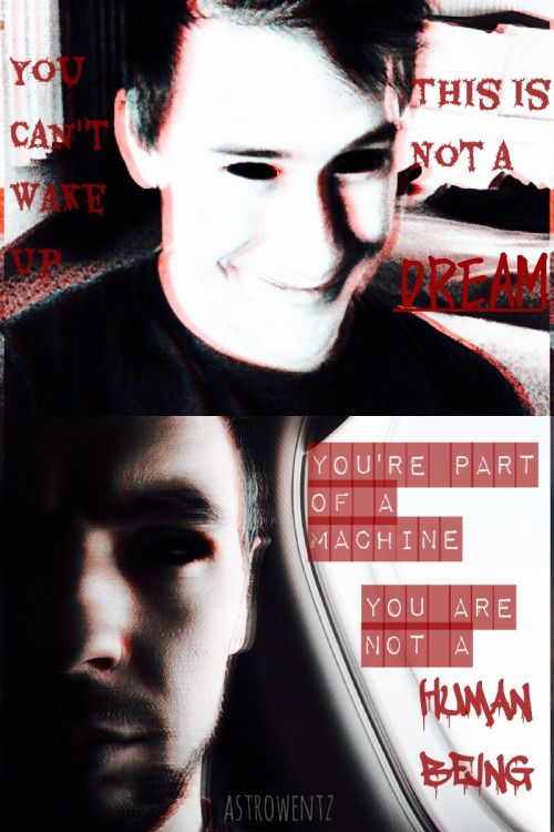 Darkiplier, a demon from the depths of the nightmare realm, and Antisepticeye, a virus taking form
