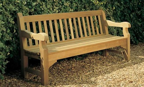 Garden Furniture Traditional rothesay teak garden bench from posh garden furniture, traditional