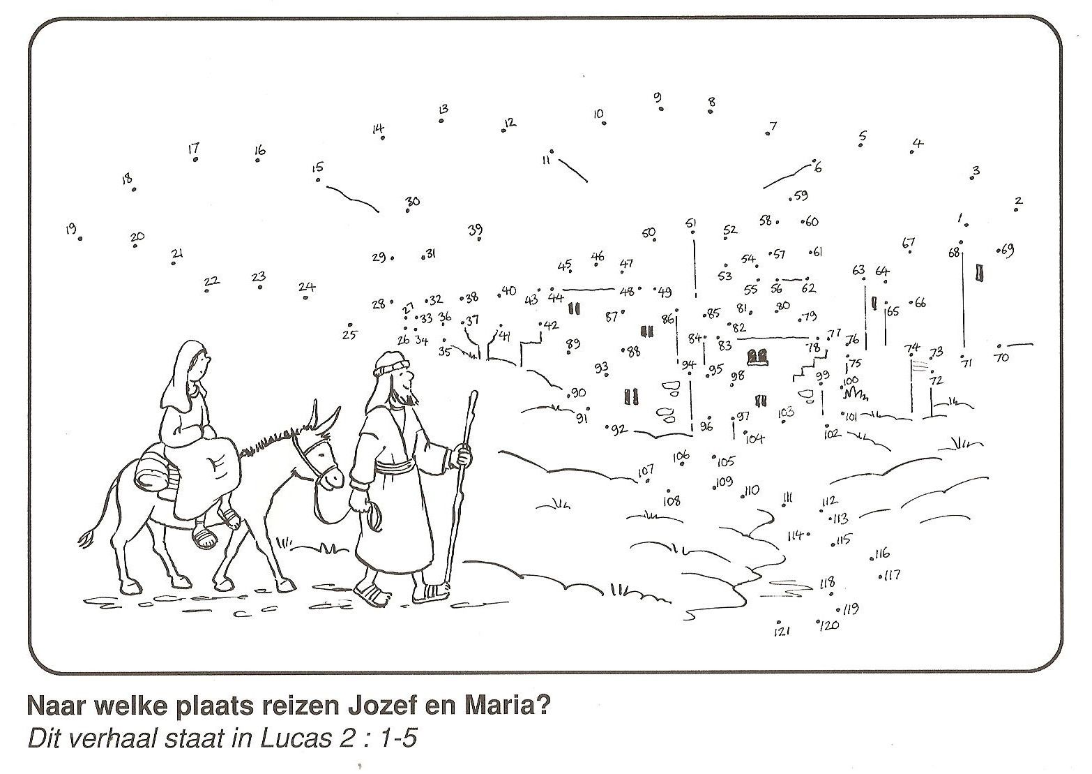 Joseph And Mary To Travel From Nazareth To Bethlehem From