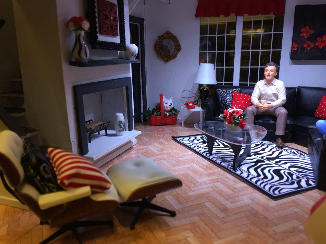 Superior The Brookwood Dollhouse   Living Room. House FurnitureMiniature ...