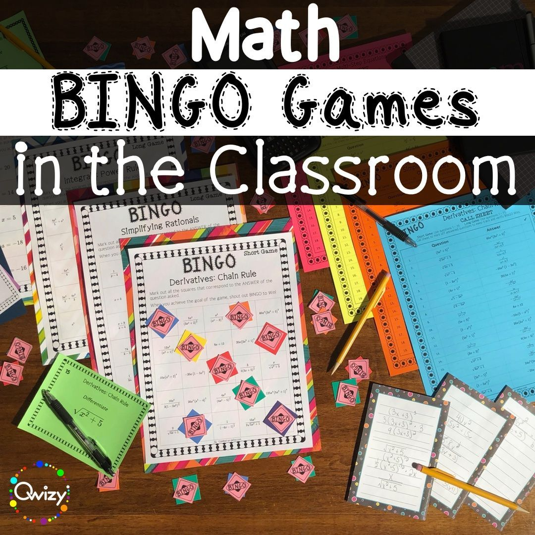 Bingo In The Classroom In