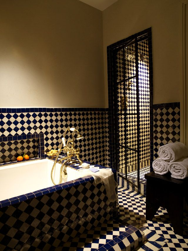 Bathroom Tiles Loose the greenwich hotel bathrooms are filled with mosaic house ceramic