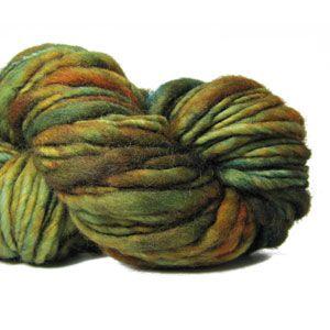 Aquarella in Malabrigo - bulky thick thin single ply yarn  www.ImagiKnit.com