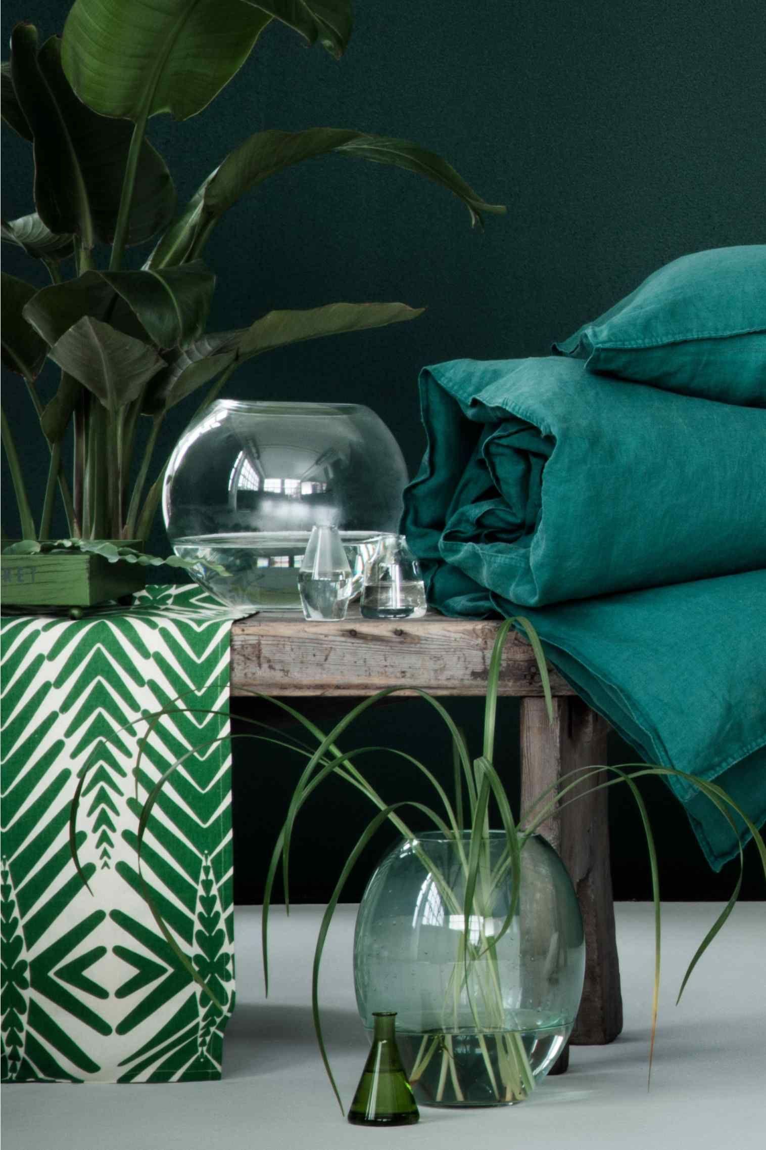 Deco Jungle Chambre Adulte chemin de table � motif | deco exotique, deco et d�co