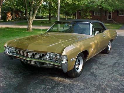 1968 Chevrolet Impala 2 Door Convertible Chevrolet Impala Impala