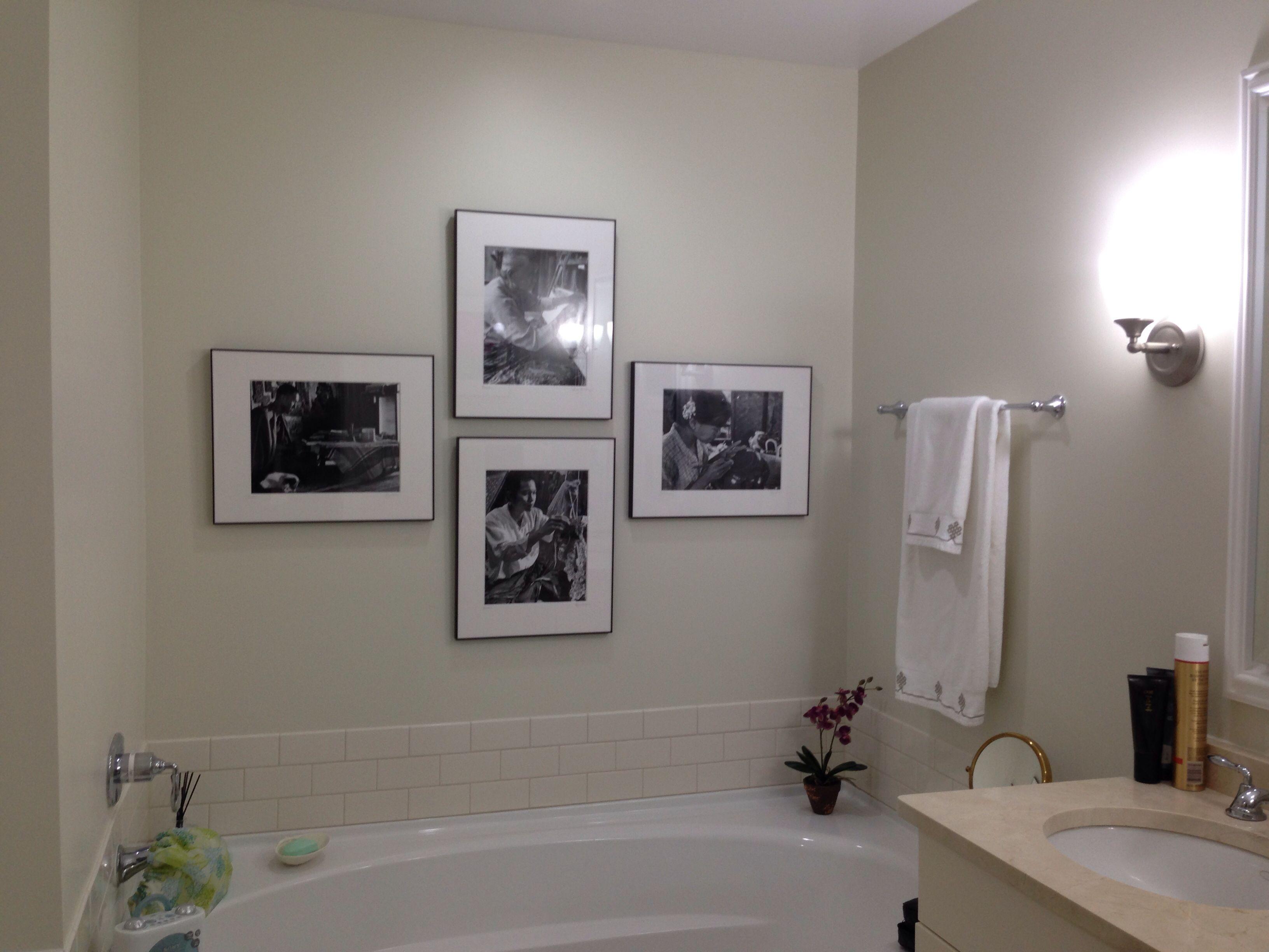 French Canvas Benjamin Moore Photography Penny Hansen Bathroom Paint