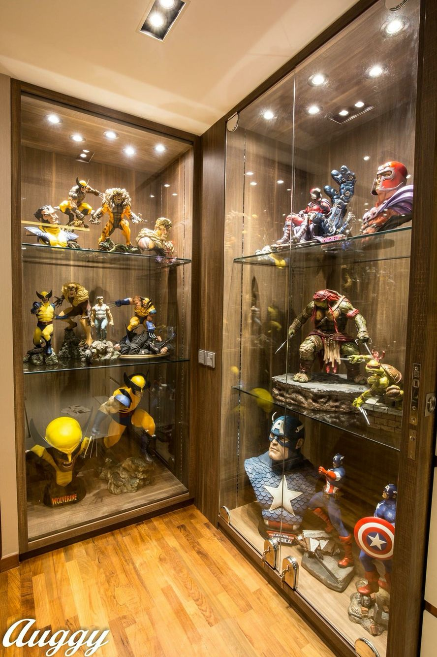 12 Diy Display Cases Ideas Which Make Your Stuff More Presentable Geek Room Man Cave Home Bar