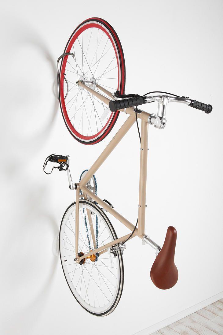 Bike Tire Tray And Wall Hook Bike Wall Hooks Bike Storage Bicycle Hanger