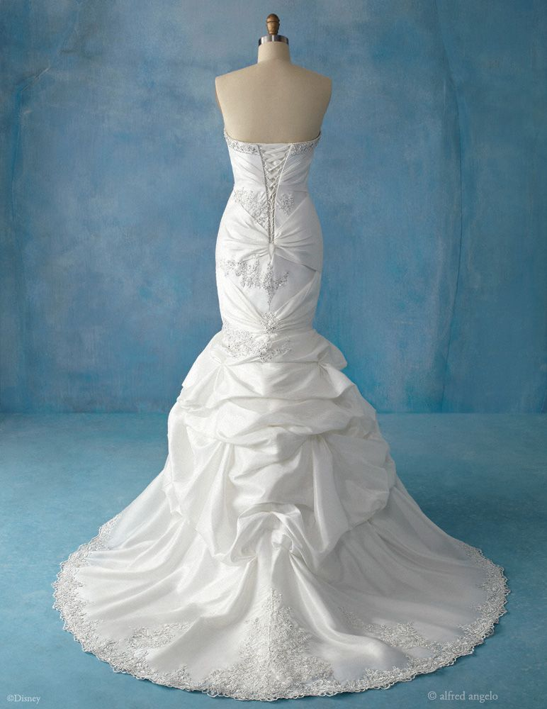 Disney Bridal - Ariel (back)        a lil too eccentric at the bottom if u ask me