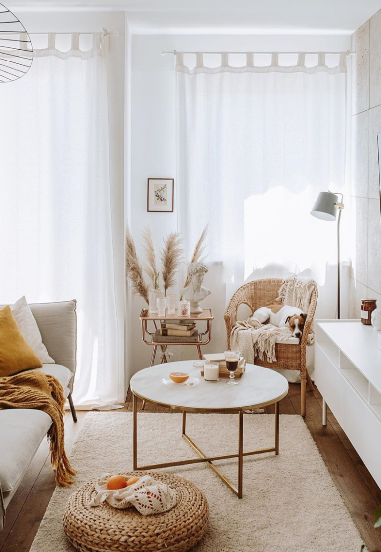 Déco : Un salon cocooning à petit prix  Morgane Pastel  Blog