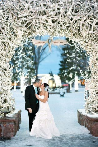 Beautiful for winter wedding