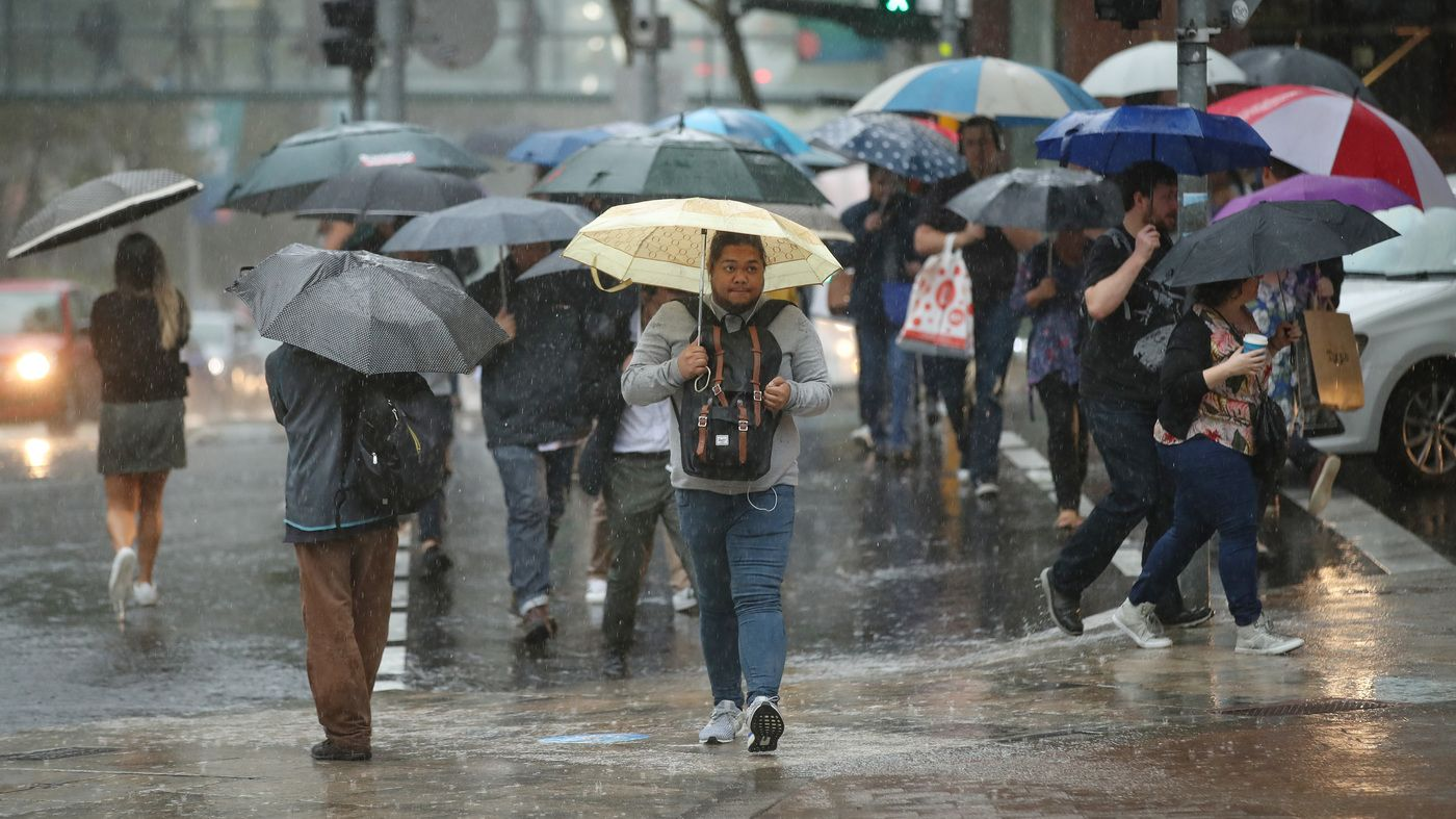 NPR News Australia's East Gets Drenched By Rain, And