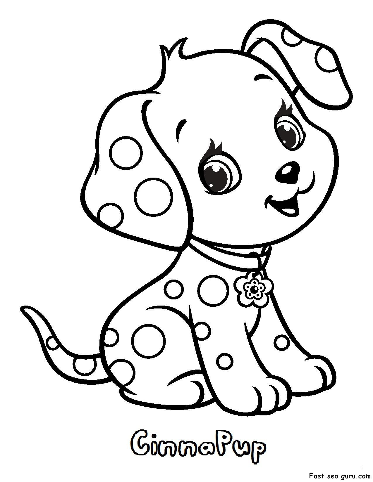 Love Strawberry Shortcake Pets Coloring Pages