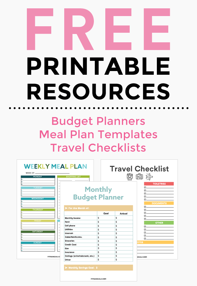 Free Resource Library  Free Printables Planners And Free