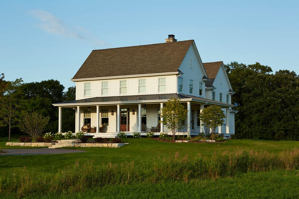 Country Farm Home Exterior lovely modern farmhouse plans decorating ideas for exterior
