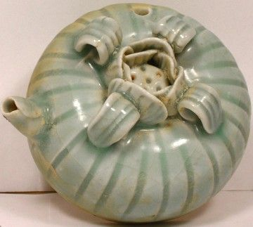 Ceramic Pomegranate Water Dropper: