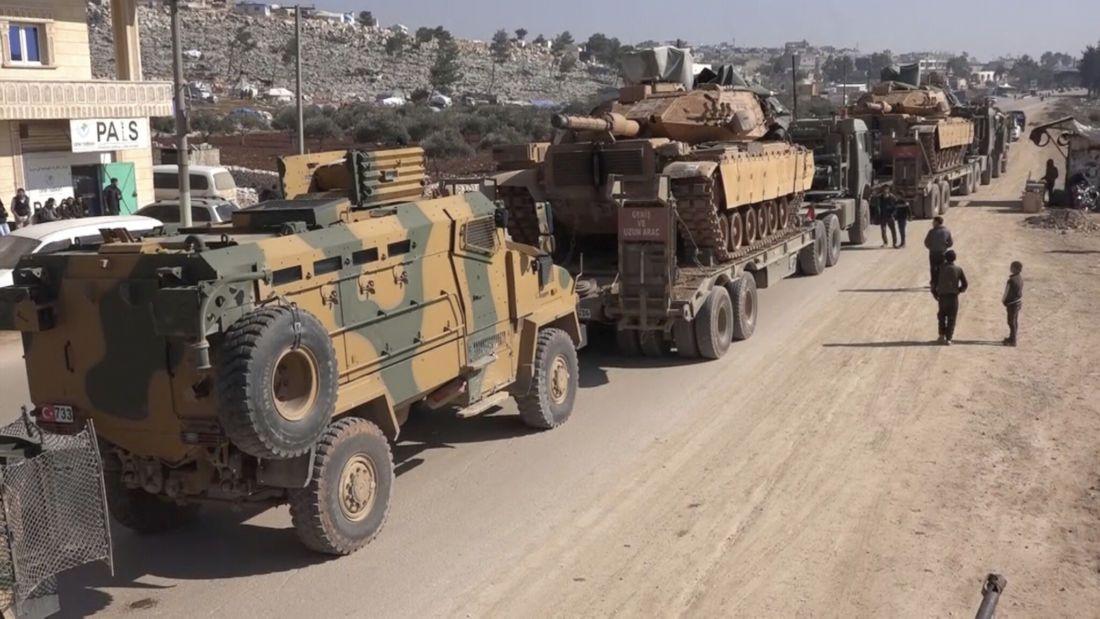 Syria Turkish Military Equipment Entered Idlib In 2020 Turkish Military Military Turkish Army
