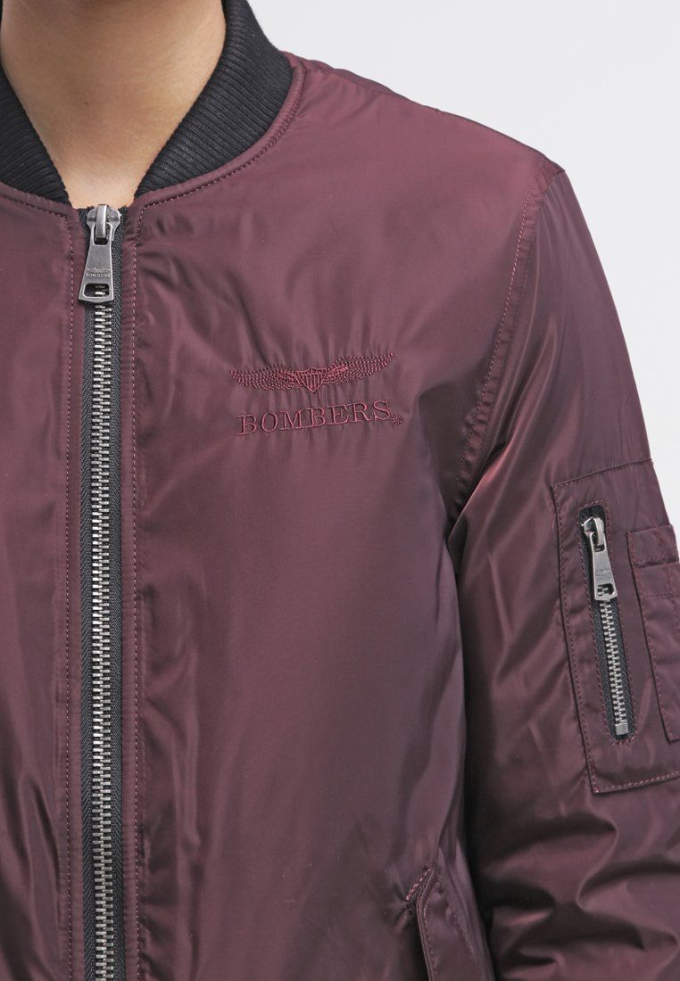 Bombers ORIGINAL - Light jacket - burgundy - Zalando.co.uk