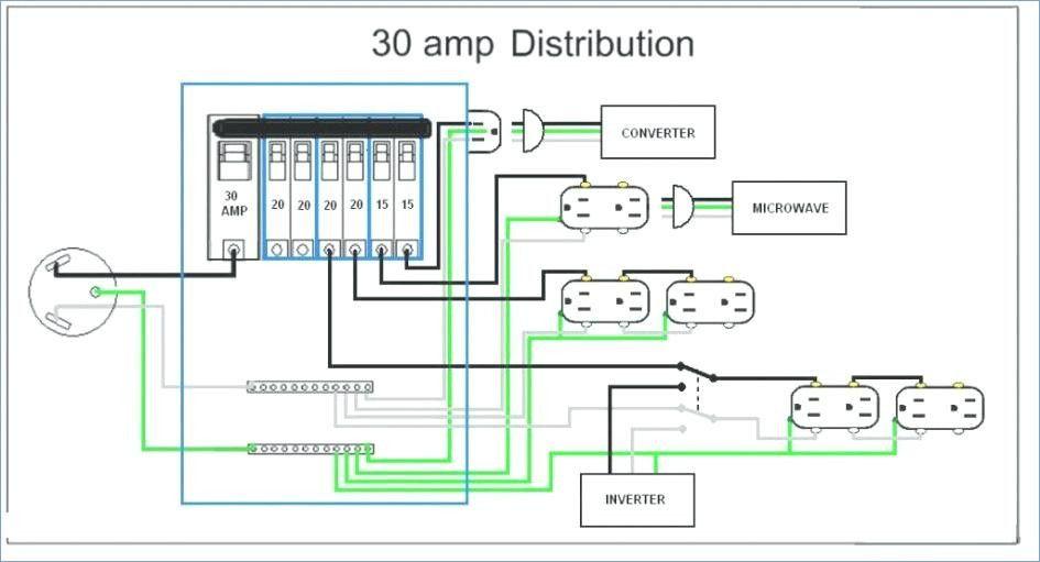50 amp wiring diagram 50 amp camper plug size amp wiring