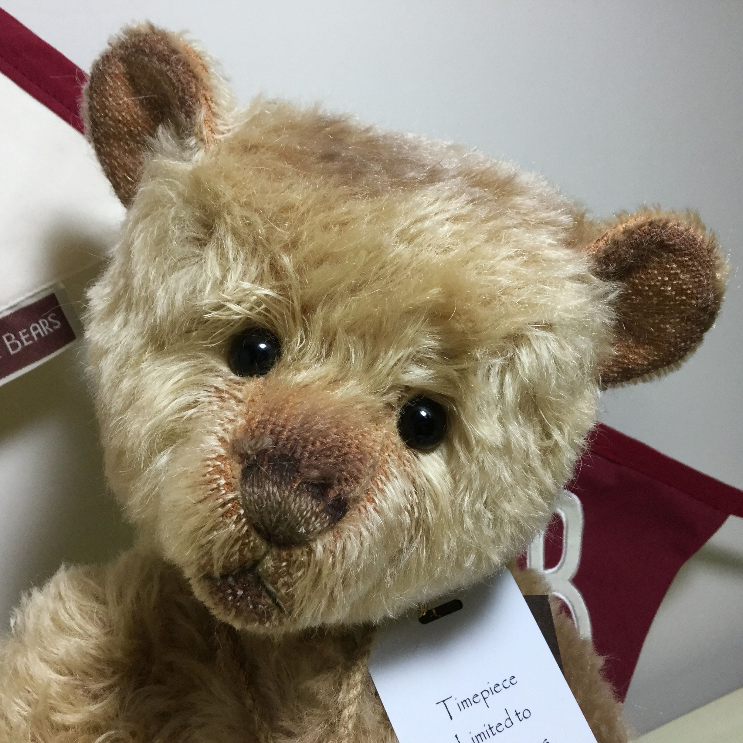 Last Of Stock At Magpies Gifts From The 2016 Collection Timepiece From The Attic Collection Http Magpies Gifts Co Uk Timepie Charlie Bears Teddy Bear Teddy