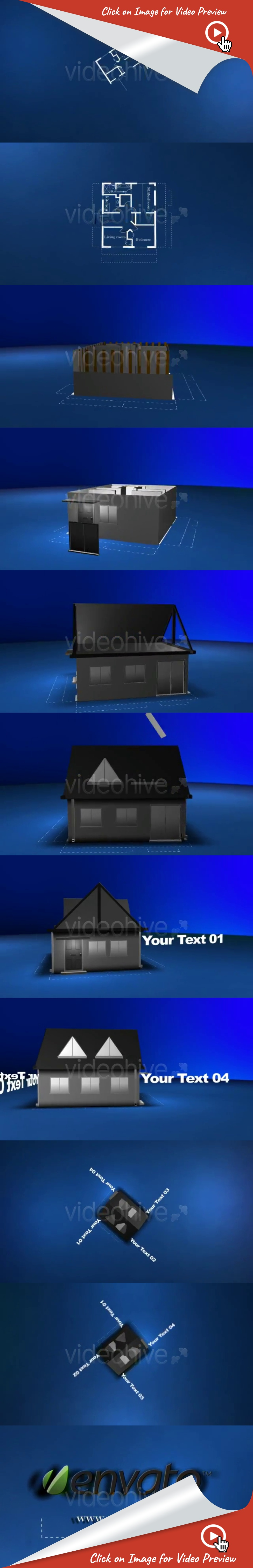 Blueprint project building a house motion graphics and logos buy blueprint project building a house by macmacer on videohive from blueprint plan to a house one minute animation of house been built and dismantled in malvernweather Images