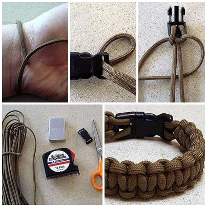 How To Make Cool Bracelet For Men Step By Step Diy Tutorial Instructions How To How To Make Step By Step Picture Tutorial Bracelets For Men Diy For Men Diy