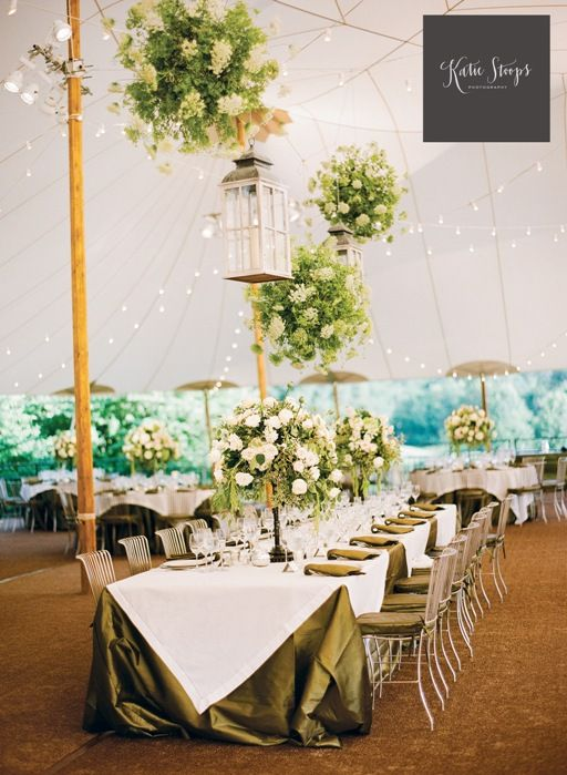 At Home Backyard Wedding Reception Katie Stoops Photography Bellwether  Events Skyline Tents Sperry Pole Tent